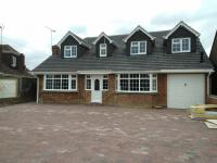 small 2 bed bungalow conversion to 5 bedroom by DKM Consultants
