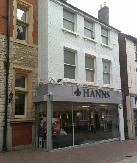 shop front planning for complete change in chatham